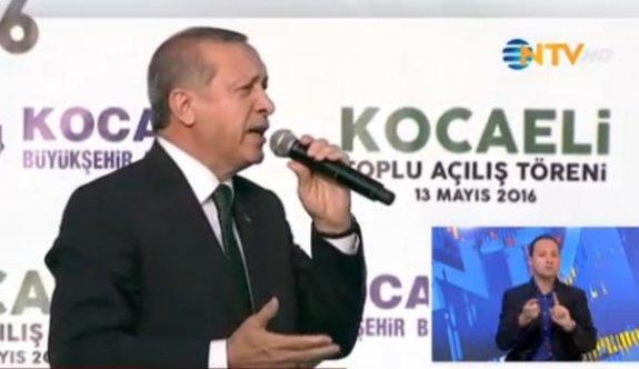 Erdoğan, Kocaeli'de konuşuyor CANLI