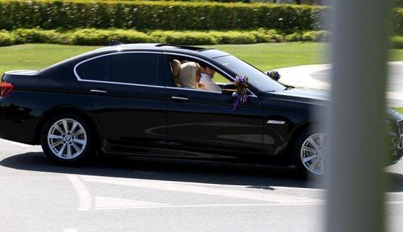 Erdoğan ve Bayraktar ailesinin mutlu günü