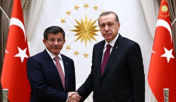 Erdoğan ile Davutoğlu Beştepe'de görüştü
