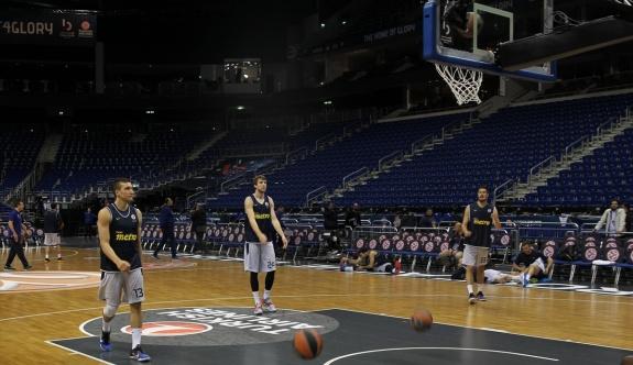 Fenerbahçe, potada son taktik çalışmasını yaptı