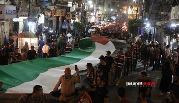 Filistin'de Nekbe yürüyüşü