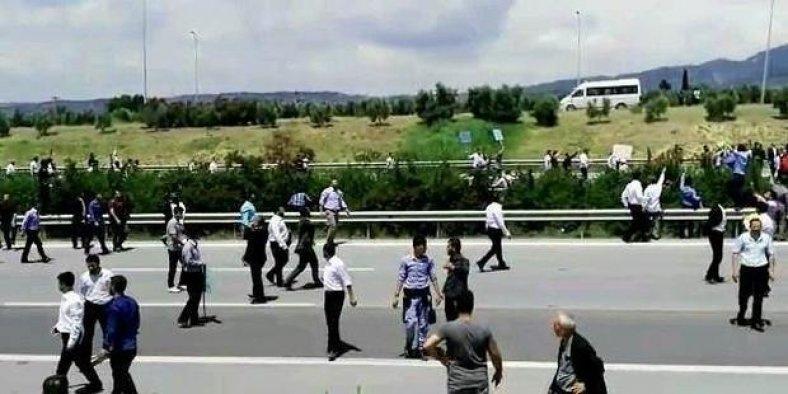 Furkan Vakfı üyeleriyle polis arasında arbede