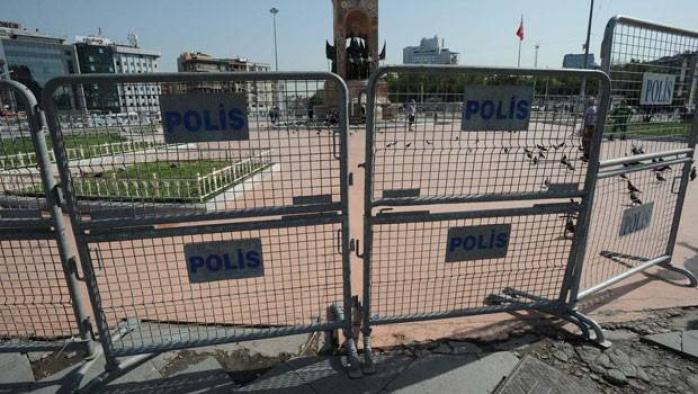 Gezi Parkı'na girişler yasaklandı