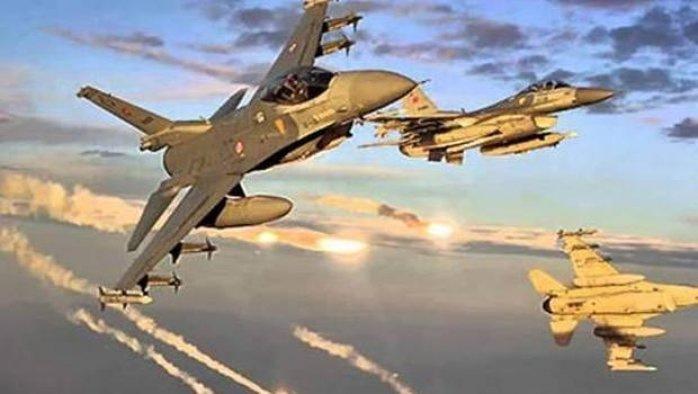 Hakkari'deki PKK hedefleri uçaklarla vuruldu