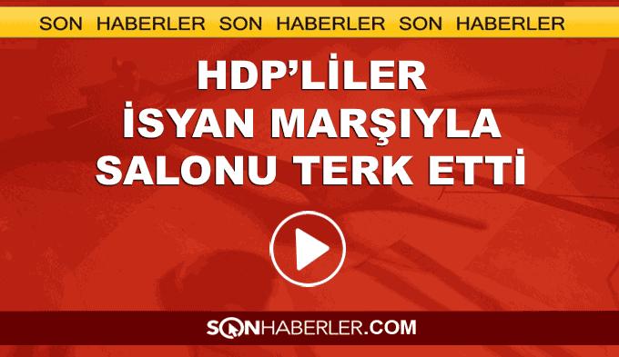 HDP'liler komisyonu terk etti
