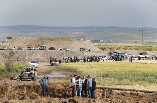HDP'liler taziyeye alınmadı