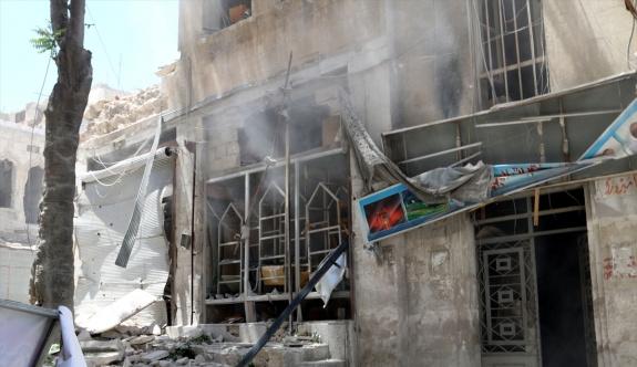 İdlib'e hava saldırısı: 3 ölü, 15 yaralı