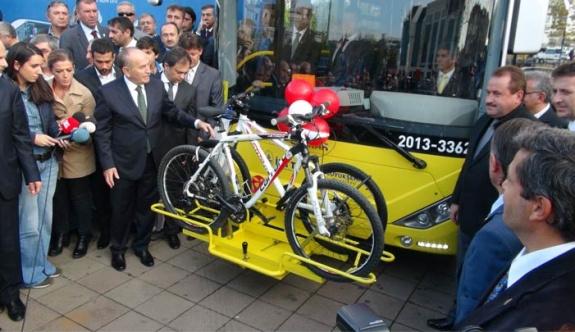İETT, bisikletli yolcuyu almayan şoförü cezalandırdı