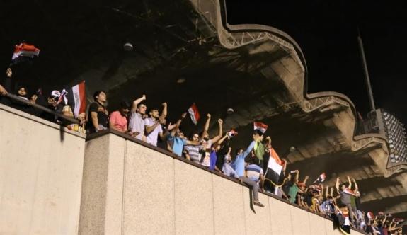 Irak'taki meclis işgali bu sabah sona erdi