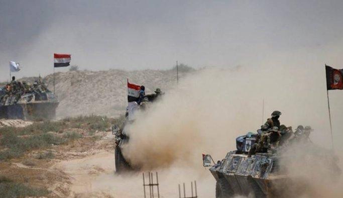 Irak ordusu Felluce'ye girdi