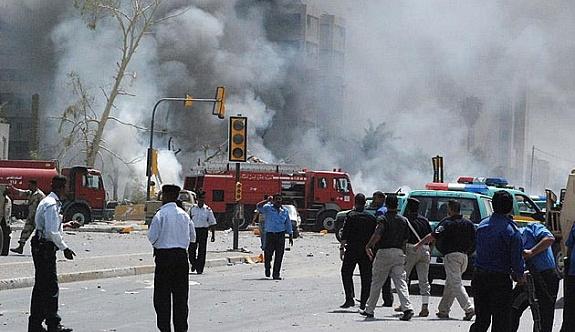Bağdat'ta LPG fabrikasına saldırı