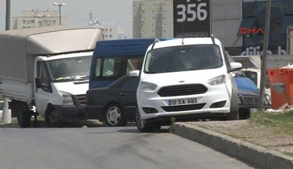 İstanbul'da aranan şüpheli araç bulundu