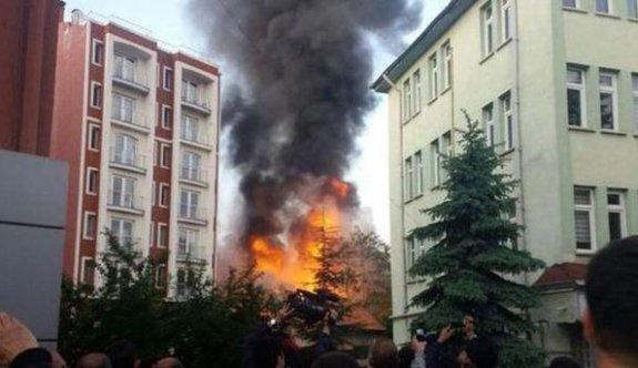 İstanbul Fatih'te korkutan patlama