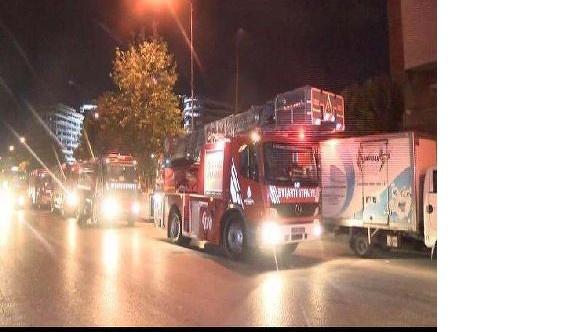 İstanbul Güngören'de korkutan yangın FOTO
