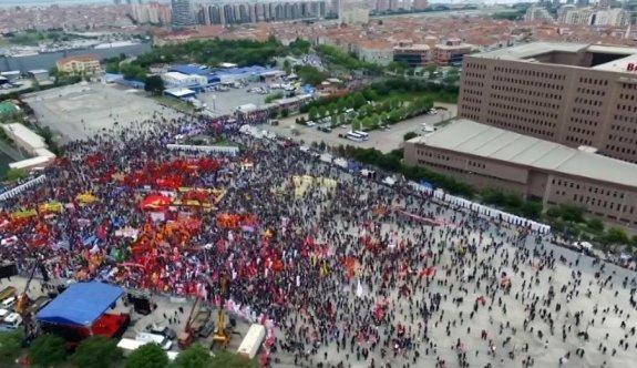 İstanbul'da son yılların en sönük 1 Mayıs'ı