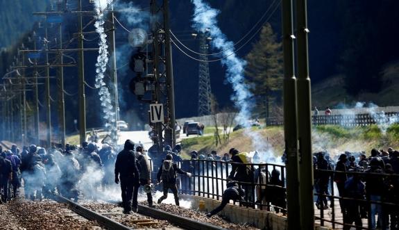 İtalya-Avusturya sınırında gerginlik