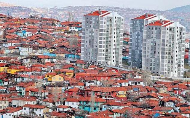 Kentsel dönüşümde 75 bin konut tamamlandı