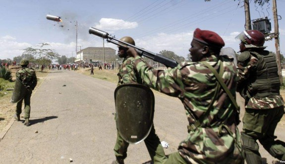 Kenya'da gösterilere kanlı müdahale