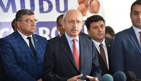 Kılıçdaroğlu: Önünüzde mazeret yok, terörü bitirin