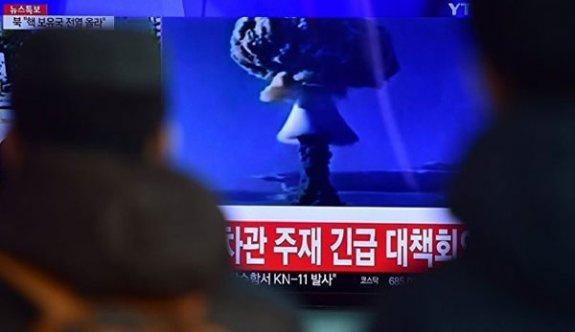 Kuzey Kore'den ABD'ye karşı nükleer atak