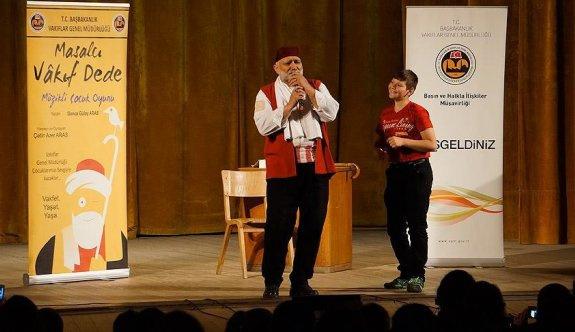 Osmanlı vakıf kültürü tiyatroyla anlatıldı