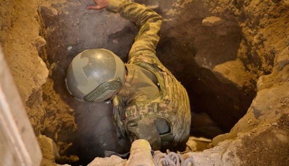 PKK'nın Nusaybin-Suriye tünel hattı yarıda kaldı