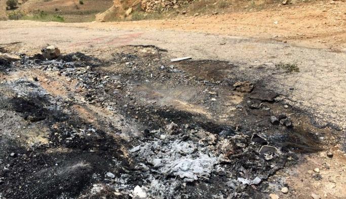 PKK kaçırdığı muhtarın cesedini yaktı