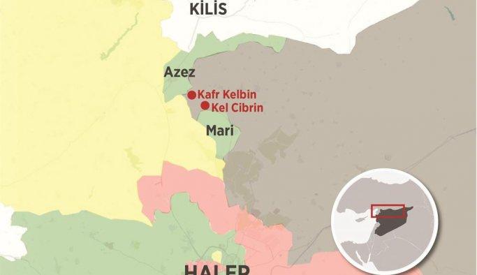 Rakka'da saldırıya uğrayan IŞİD Mare'ye saldırdı