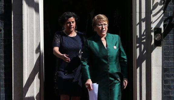 Şili Devlet Başkanı Bachelet, Londra'da