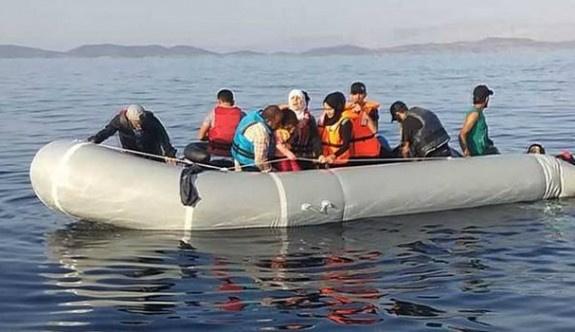 Sınırlarda dün 675 mülteci yakalandı