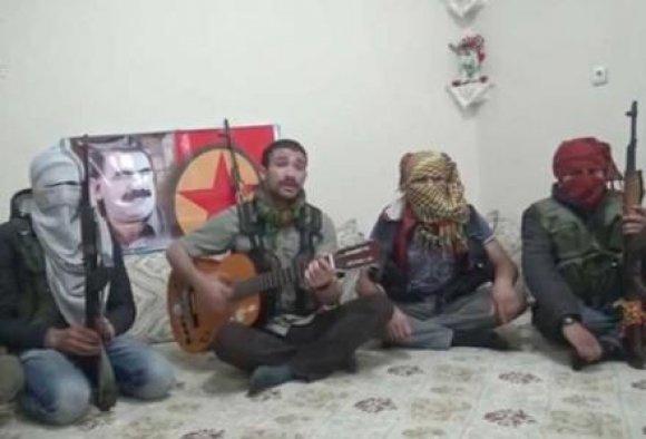 'Sivilim' diyen PKK'lının görüntüleri çıktı