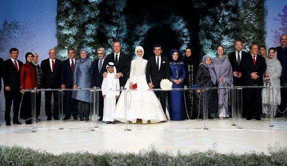 Erdoğan ve Bayraktar çifti sade bir nikah töreniyle dünya evine girdi FOTO VIDEO