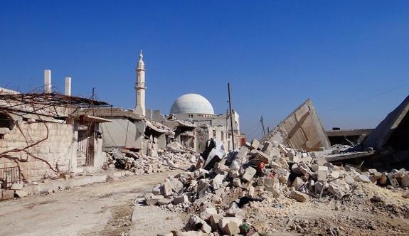 Suriye rejimi ordusu Halep'te ateşkes ilan etti