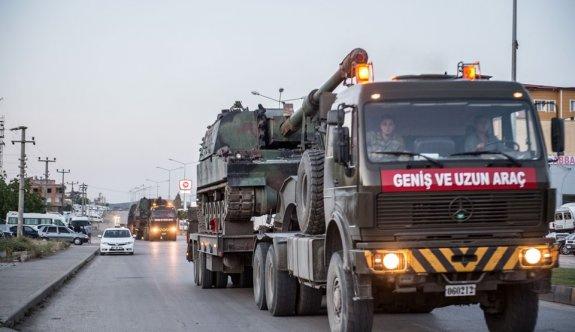 Suriye sınırına yeni obüs sevkiyatı