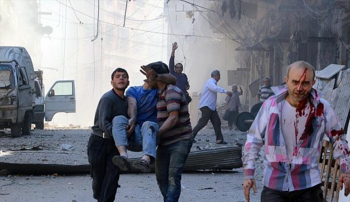 Esad helikopterleri deniz mayınlarıyla saldırdı