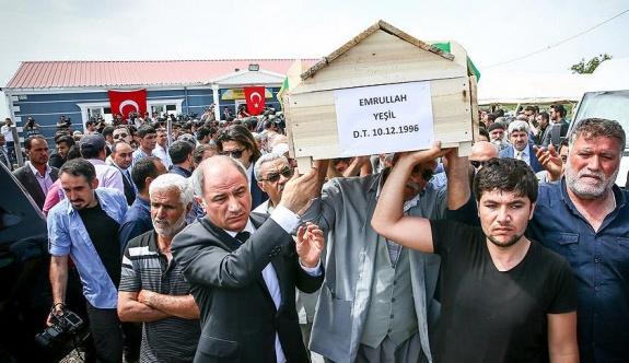 Terör kurbanı köylülerin cenazesine bakanlar da katıldı