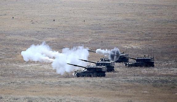 TSK IŞİD'in doçkalı 4 aracını imha etti