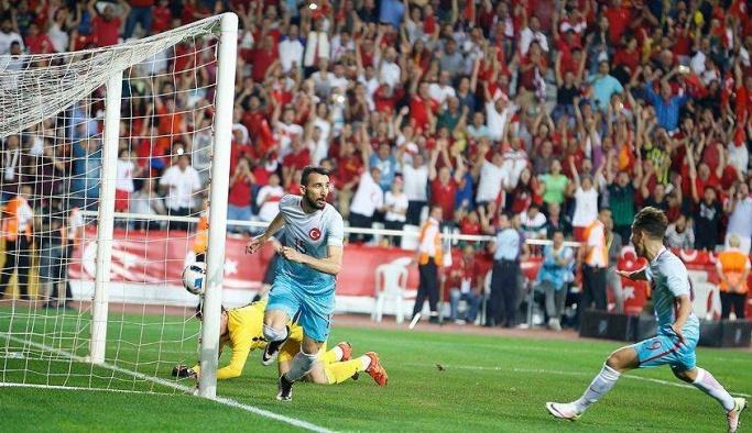 Türkiye Karadağ maç özeti