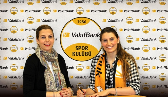 VakıfBank, Melis Gürkaynak'la sözleşme yeniledi
