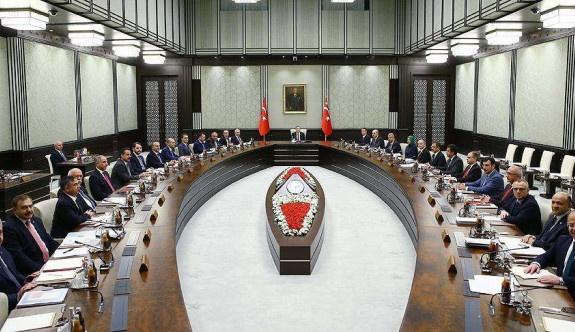 Yeni hükümet ilk toplantısını Beştepe'de yaptı