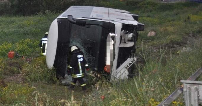 Yozgat ve Çorum'da iki ayrı yolcu otobüsü kazası