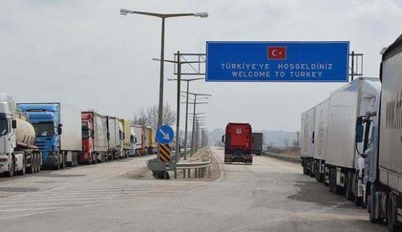 Pazarkule Sınır Kapısı'da geçişler durdu