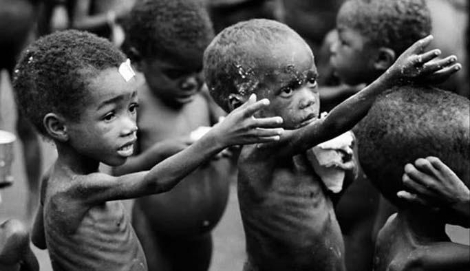 200 kişi açlıktan öldü