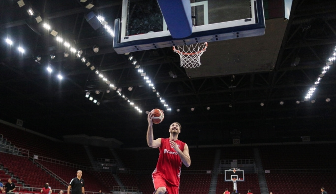 A Milli Erkek Basketbol Takımı'nda hazırlıklar sürüyor