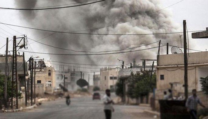 PYD, IŞİD'in elindeki Menbiç'in merkezine girdi