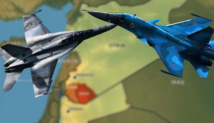 ABD ve Rus uçakları arasında it dalaşı