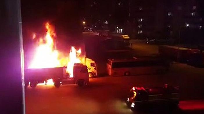 Adana'da art arda patlamalar