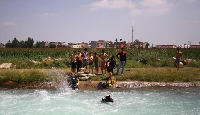 Adana'da sulama kanalına çocuk düştüğü iddiası