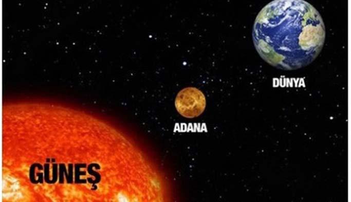 Adanalılara 'Güneş'e ateş etmeyin' uyarısı
