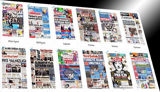 Almanya'nın tarihi hatası manşetlerde